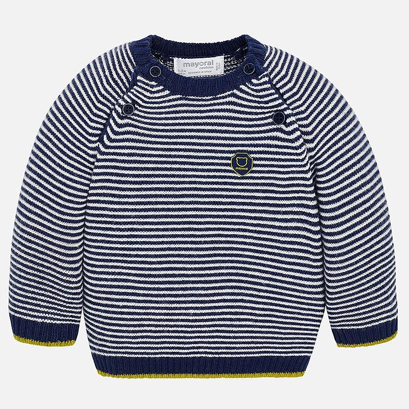 save off 66090 8251f Pullover gestreift Baby Jungen Mayoral